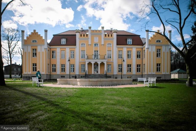 Pałac w Orłowie po remoncie