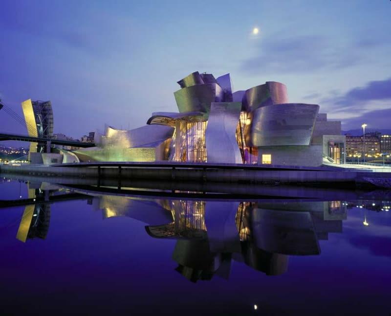 Muzeum Guggenheima, Bilbao, Hiszpania, Frank O. Gehry