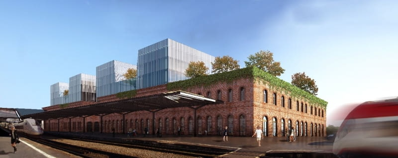 Koncepcja przebudowy starego dworca