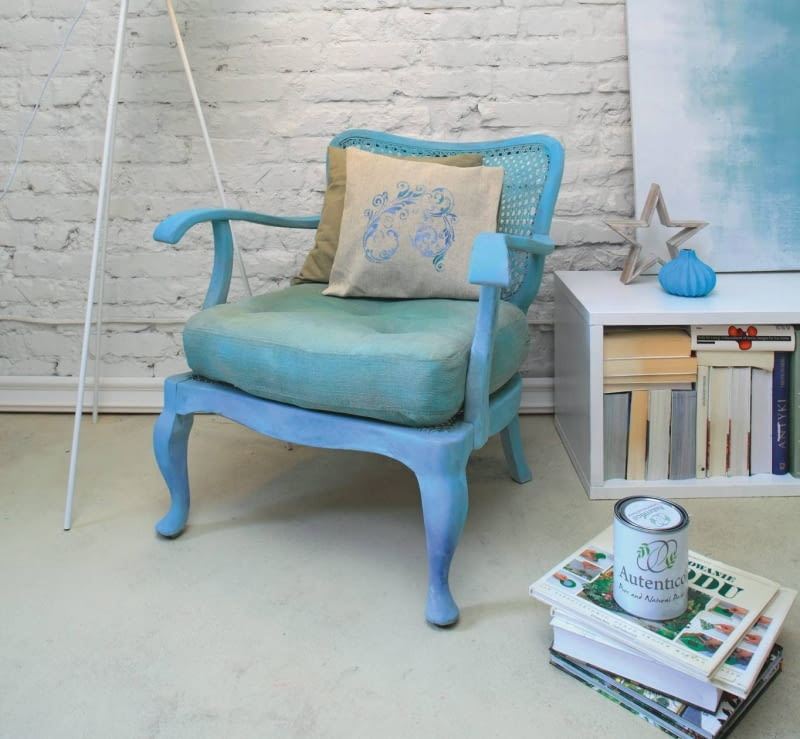 Odnowiony fotel