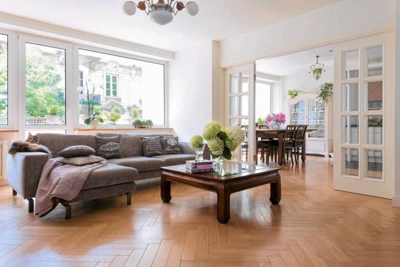 salon, aranżacja salonu, klasyczne wnętrza