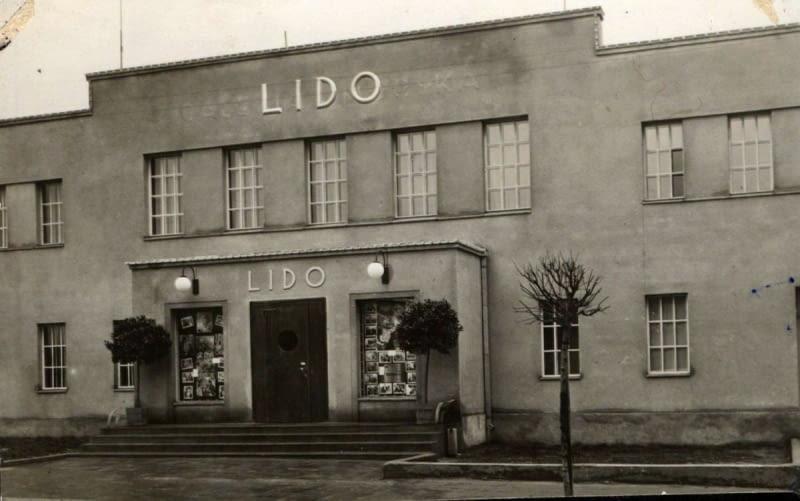 Kino Lido, późniejsze kino Atlantic, fotografia zrobiona w latach 1937-1939