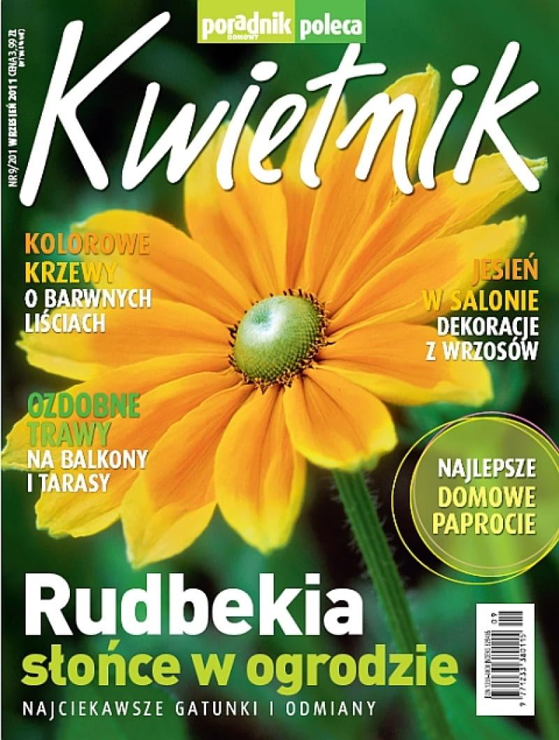 Okładka miesięcznika Kwietnik 09/2011