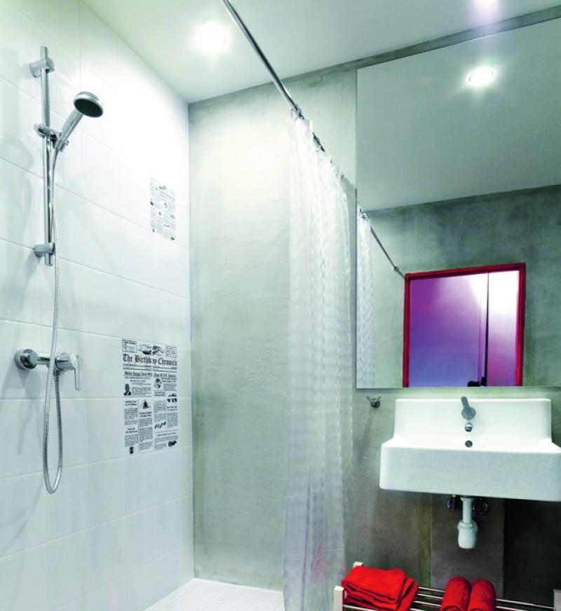 diody LED, łazienka, oświetlenie łazienki