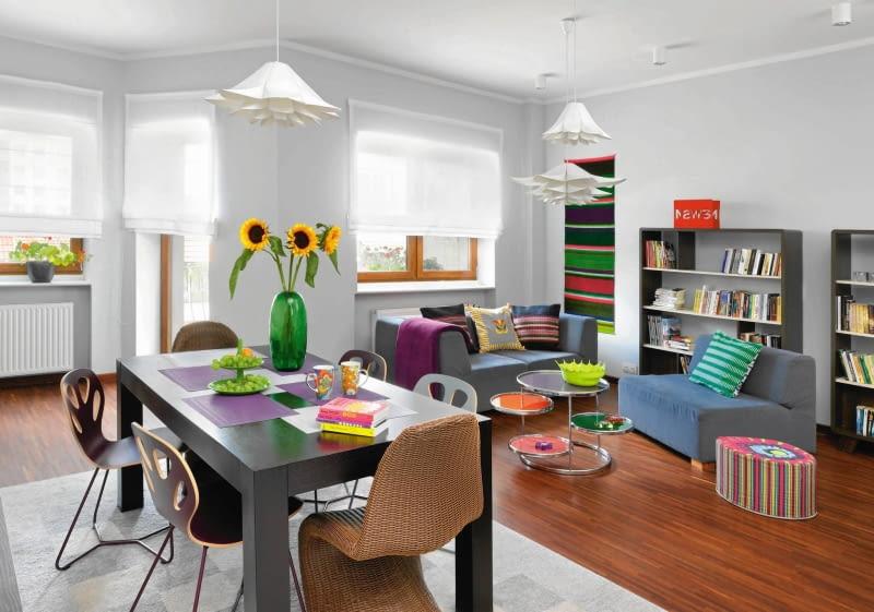 Jak Urządzić Salon Z Jadalnią Ciekawe Aranżacje ładny Dom
