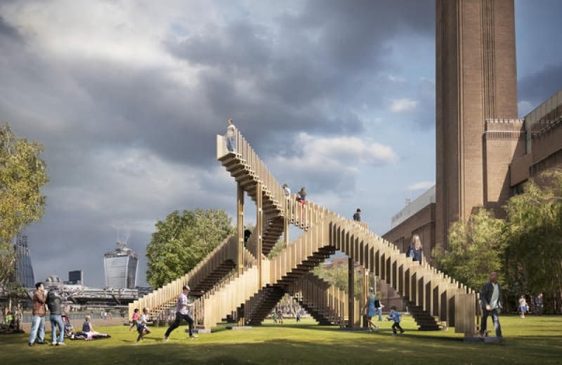Endless Stair w Londynie