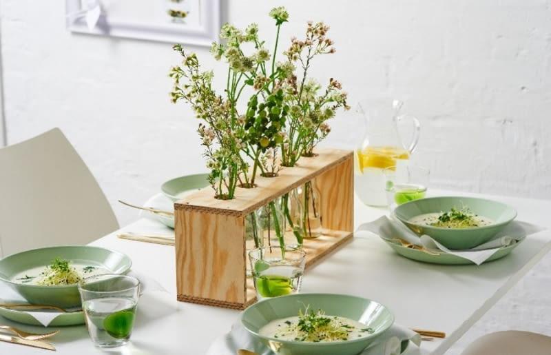 Nowoczesny wazon na kwiaty