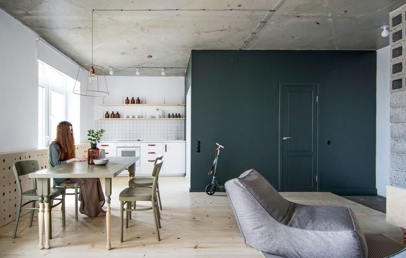 mieszkanie, oryginalne mieszkanie, mieszkanie urządzone tanim kosztem, ciekawe mieszkanie