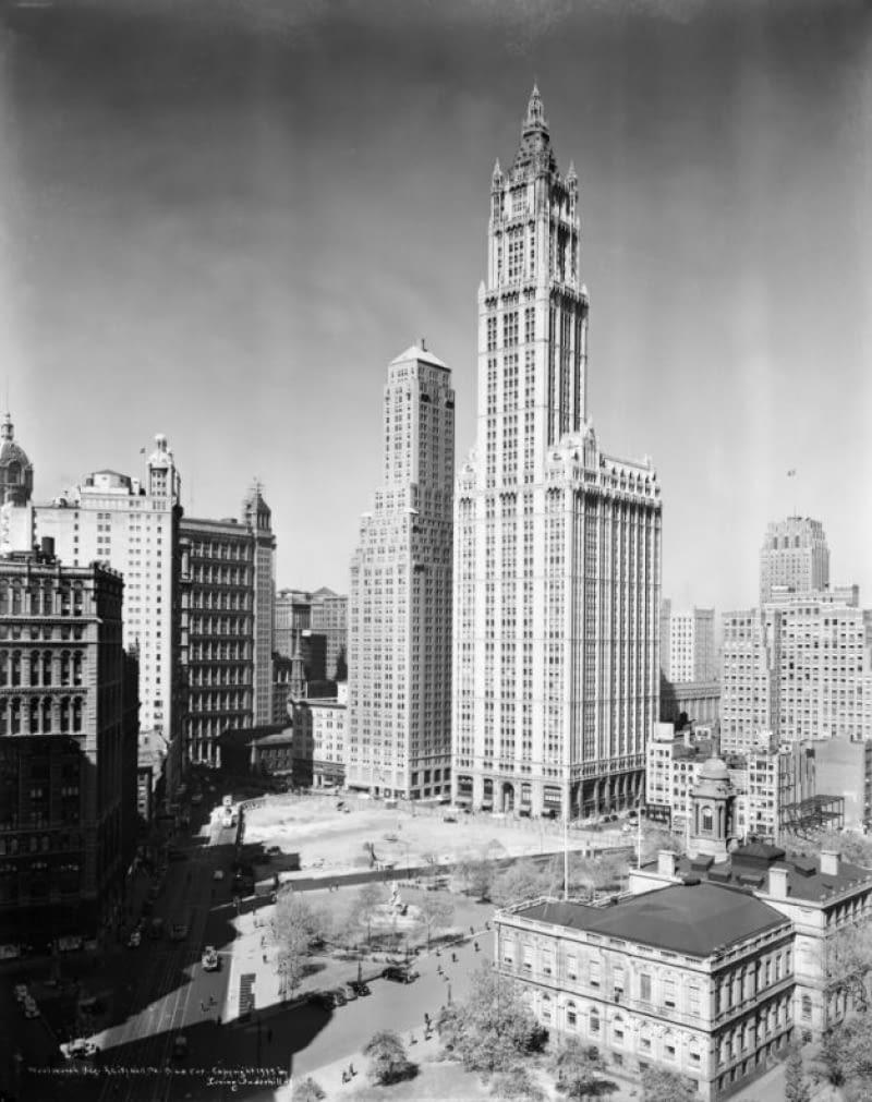 wieżowce, chicago, nowy jork, woolworth building, Monadnock Building