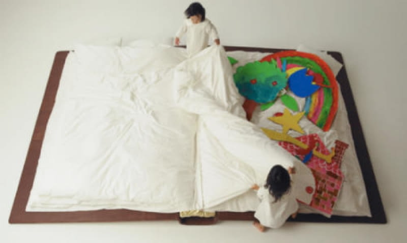 Yusuke Suzuki, Book Bed, łóżko dziecięce