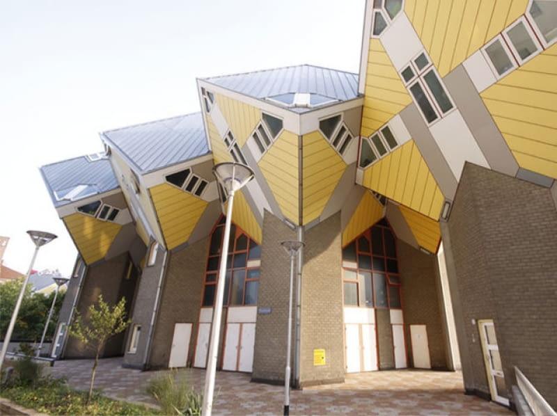 Kubuswoningen w Rotterdamie, Piet Blom
