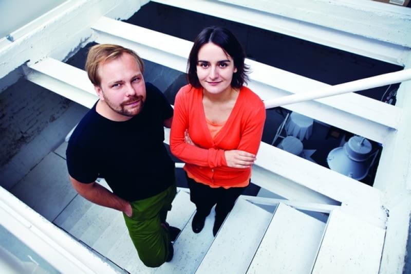 Marcin Garbacki i Karolina Tunajek z pracowni Projekt Praga