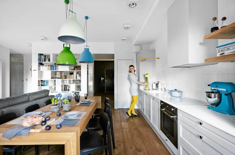 FRONTY SZAFEK KUCHENNYCH, kuchnia w stylu skandynawskim