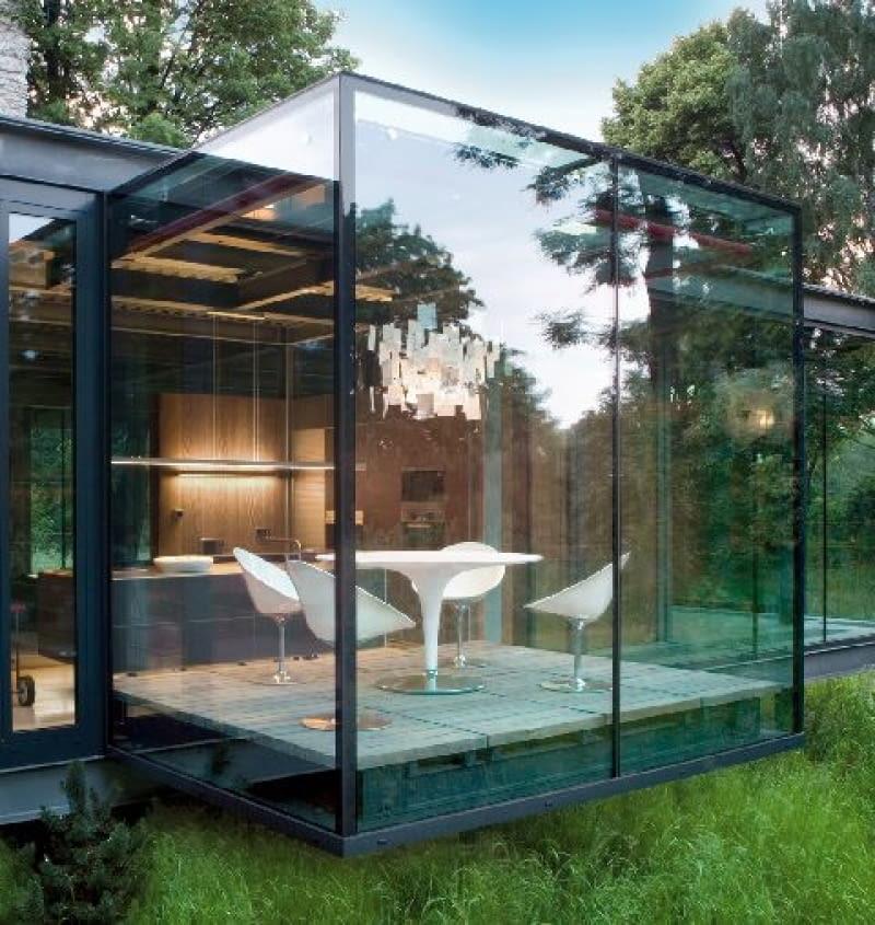 ściany zewnętrzne ze szkła, ściany ze szkła,szklane ściany