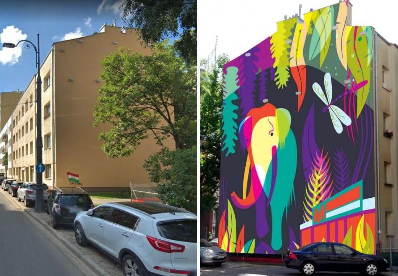 Przy Skierniewickiej 11 w Warszawie powstanie nowy mural