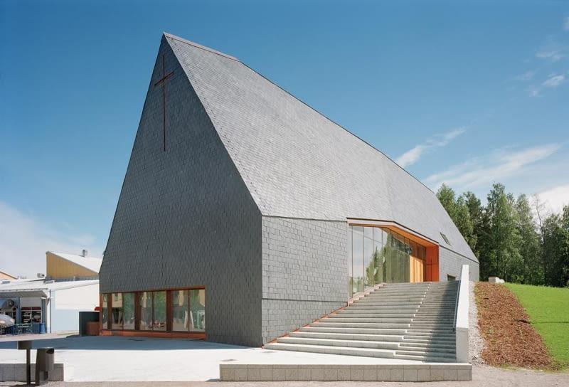 Kuokkala Church, Finlandia, Projekt: Lassila Hirvilammi Architects
