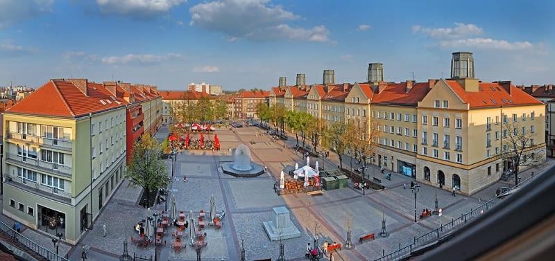 Plac Krzysztofa Baczyńskiego w Tychach