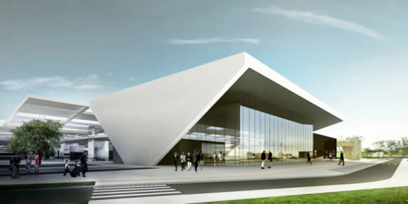 Nowy Dworzec Zachodni w Warszawie