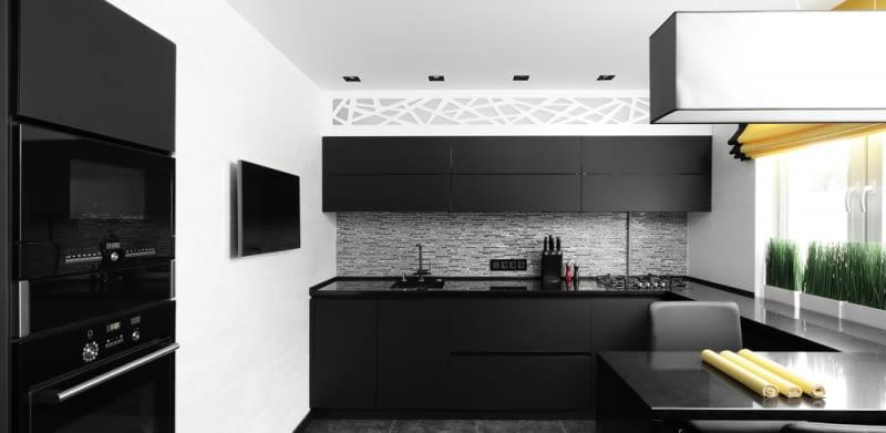 Czarne I Białe Dodatki W Kuchni Zobacz Modne Rozwiązania
