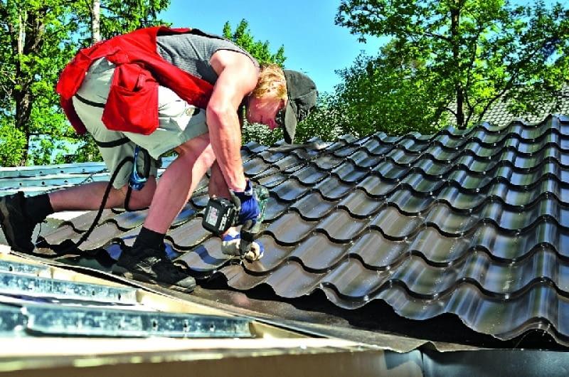 dach, pokrycie dachowe, blachodachówka, blacha dachówkowa