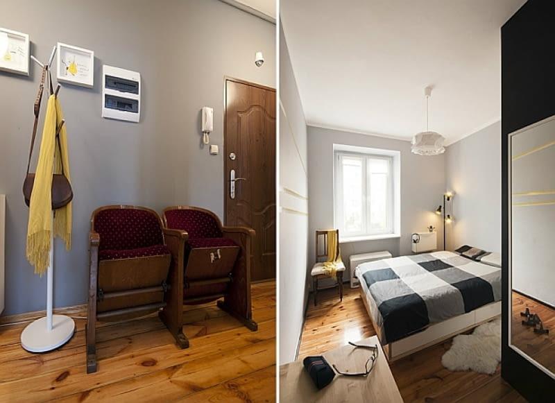 małe mieszkanie, mieszkanie w kamienicy, jak urządzić małe mieszkanie, nowoczesne mieszkanie