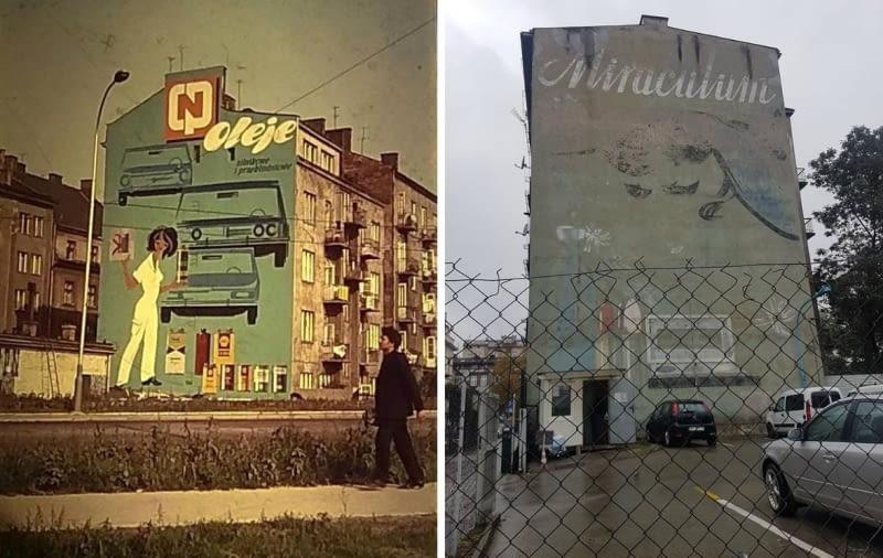 Murale CPN i Miraculum w Krakowia autorstwa Jana Suchowiaka