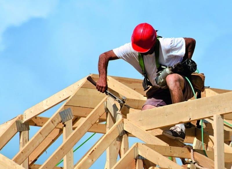 Koszt Budowy Domu Ile Kosztuje Więźba Dachowa ładny Dom