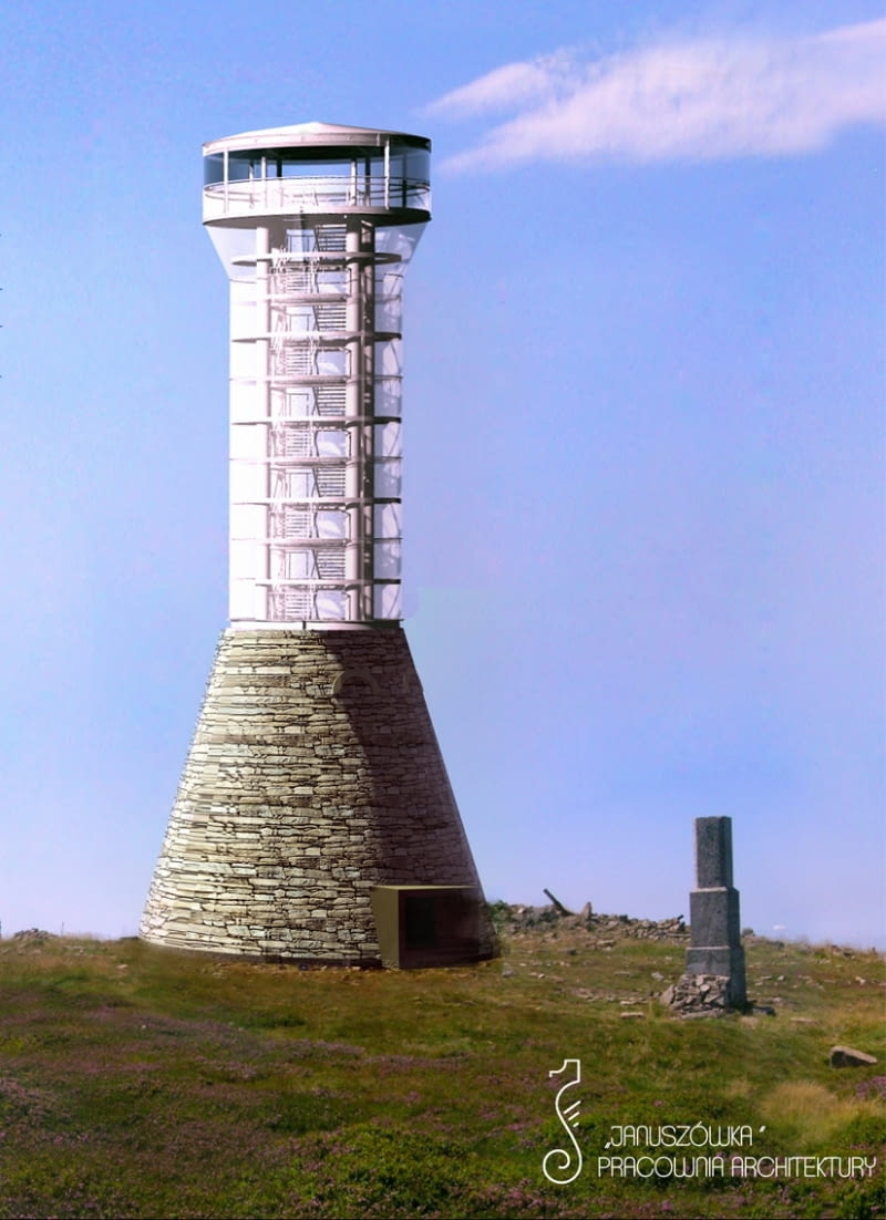 Wieża Widokowa Na śnieżniku Plany Odbudowy W Nowej Formie
