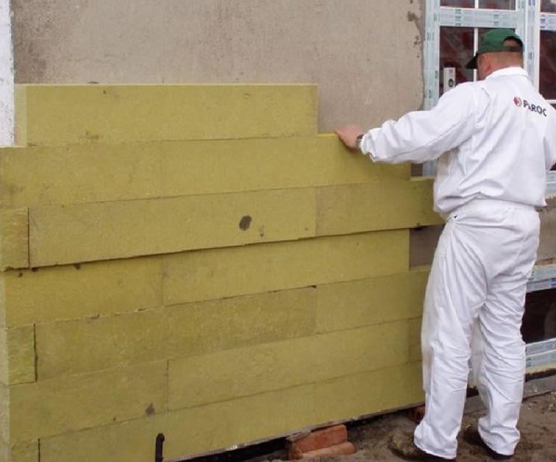 Wełna lamelowa do izolacji ścian dwuwarstwowych