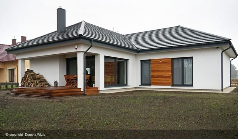 projekty domów, domy realizacje