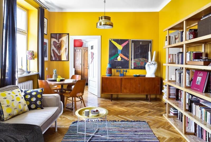 Mieszkanie W Którym Stare Płynnie łączy Się Z Nowym ładny Dom