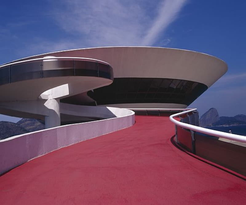 oskar niemeyer, niteroia, modernizm, architektura