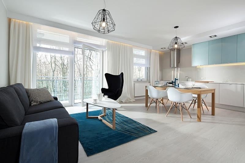 nowoczesne mieszkanie, oryginalne mieszkanie, wnętrza
