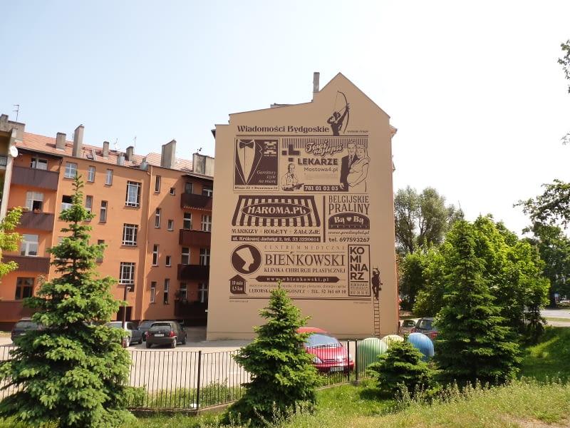 Retro Murale W Bydgoszczy Bryła