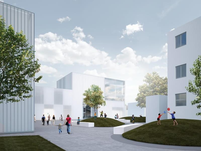 Projekt przebudowy Szpitala Dziecięcego przy ul. Spornej w Poznaniu