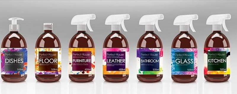 chemia gospodarcza, barwa, środki czystości
