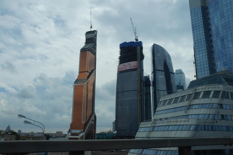 Mercury City Tower w Moskwie