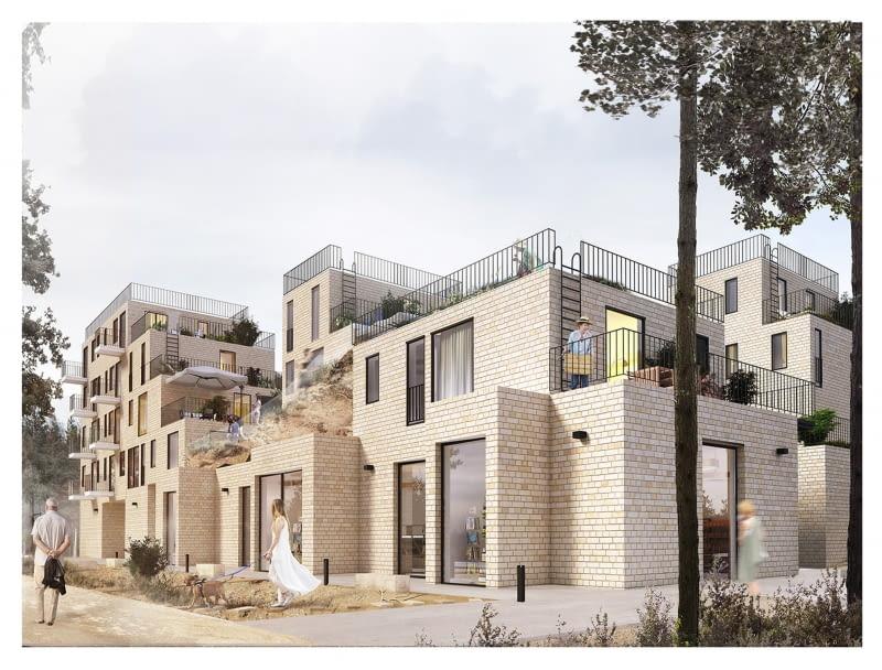 'Connectiv housing' - projekt dyplomowy bloku mieszkalnego.