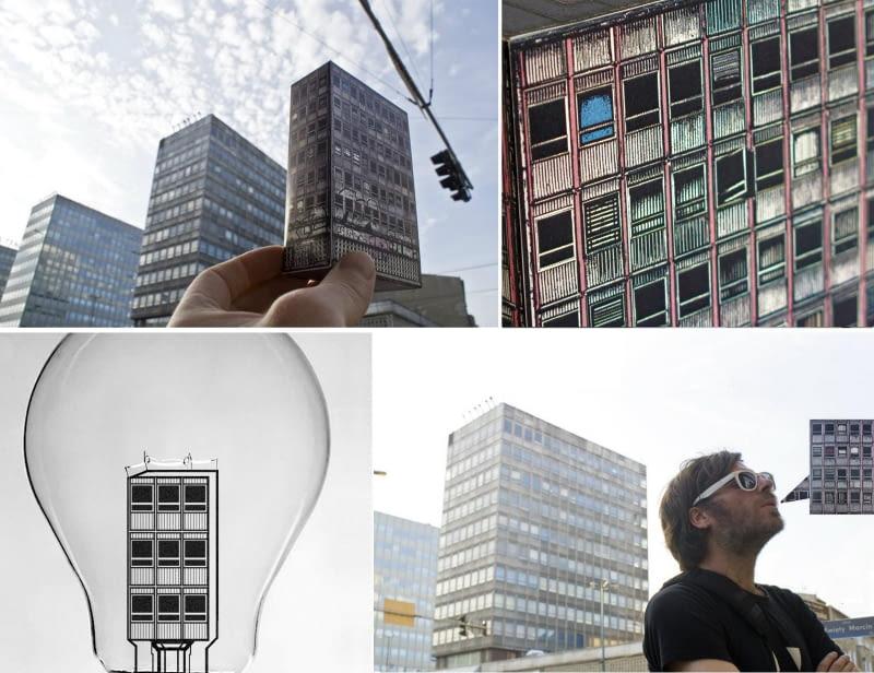 Biurowce Alfa to jeden z najbardziej charakterystycznych kompleksów modernistycznej architektury w centrum Poznania. Grafiki: David Navarro, Zupagrafika.