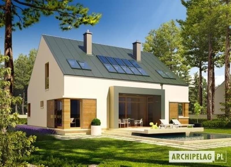 gotowy projekt domu jednorodzinnego, dom jednorodzinny