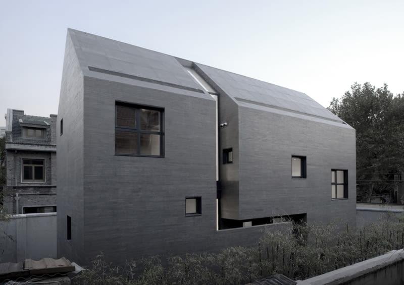 AZL architects, Zhang Lei, dom jednorodzinny, beton, chiny, architektura