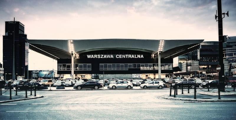 Dworzec Centralny w Warszawie / architektura warszawa