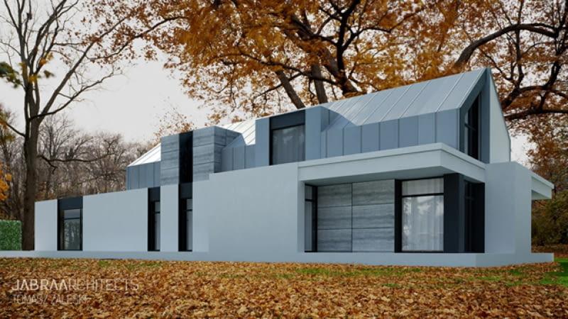 projekty domów, dom jednorodzinny, nowoczesny dom