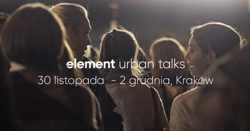 Element Urban Talks 2018