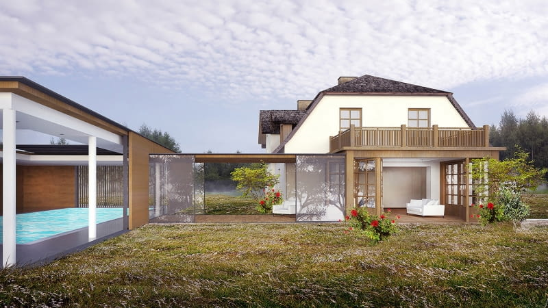 Projekt rozbudowy starego domu