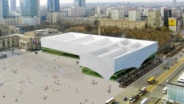 Muzeum Sztuki Nowoczesnej, Warszawa, proj. Christian Kerez, źródło: materiały prasowe