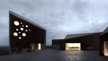 Konsorcjum Winiarskie 'Ribera del Duero' w Hiszpanii, proj. Estudio Barozzi Veiga
