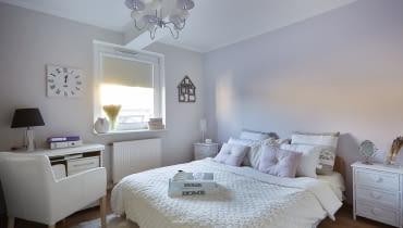 Sypialnia po metamorfozie, Home Staging, metamorfoza wnętrz
