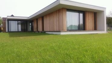 Dom jednorodzinny - dom współczesna kostka