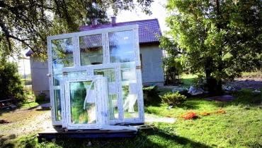 Nowe okna w starym domu